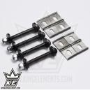 8x Chapitas + 4x tornillos - Regulación de caída e30/e36 compact